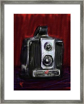 The Brownie Framed Print by Russell Pierce
