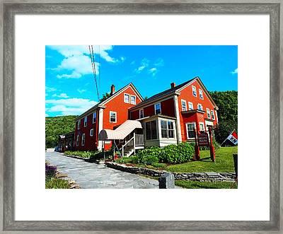 The Bryant House Framed Print