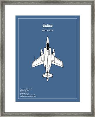The Buccaneer Framed Print by Mark Rogan
