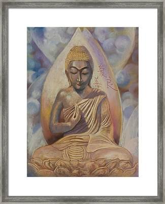 The Buddah Framed Print