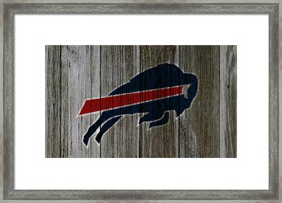 The Buffalo Bills C3 Framed Print by Brian Reaves