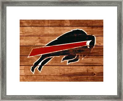 The Buffalo Bills W2 Framed Print by Brian Reaves