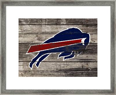 The Buffalo Bills W5 Framed Print by Brian Reaves