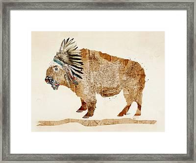 The Buffalo Framed Print