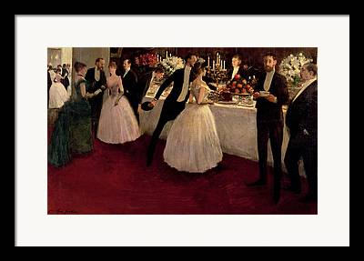 The Buffet Paintings Framed Prints