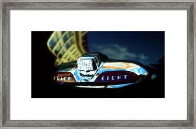 The Buick Eight  Framed Print by Steven Digman