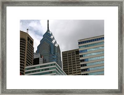 The Building  Framed Print by Paul SEQUENCE Ferguson             sequence dot net