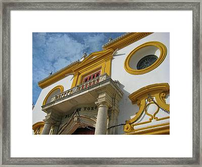 The Bullfight Framed Print by JAMART Photography