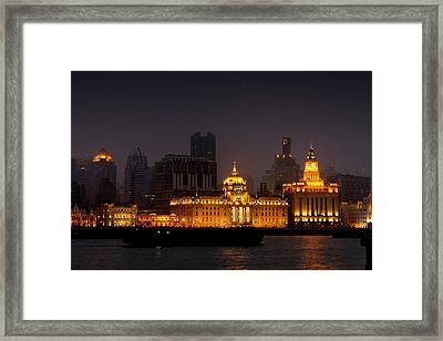 The Bund - More Than Shanghai's Most Beautiful Landmark Framed Print