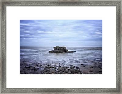 The Bunker Framed Print by Martin Newman