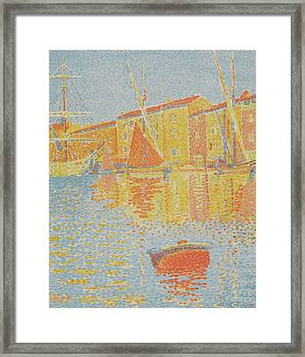The Buoy Framed Print by MotionAge Designs