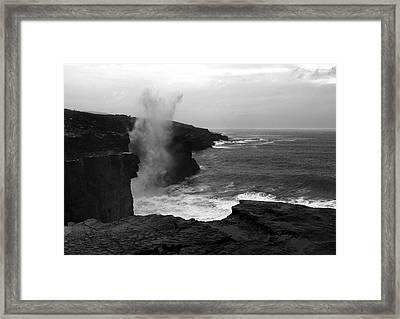 The Burren Way Framed Print by Aidan Moran