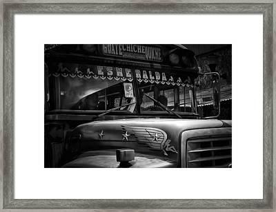 The Bus Esmeralda Framed Print by Tom Bell