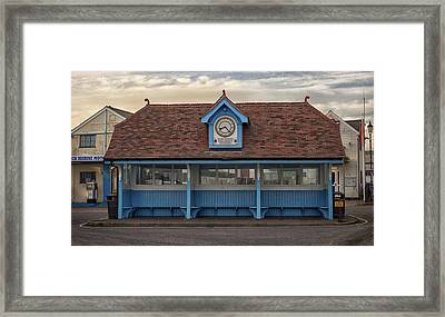The Bus Stop Framed Print