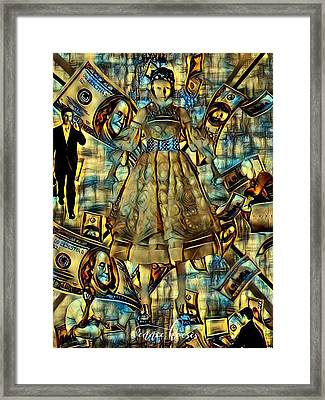The Business Of Humans Framed Print