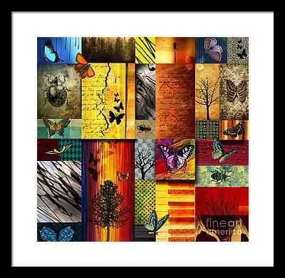 Vibrant Color Framed Prints