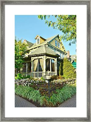 The Buttery Restaurant In Lewes Delaware Framed Print