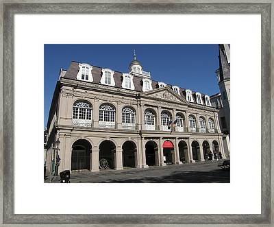 The Cabildo Framed Print by Jack Herrington