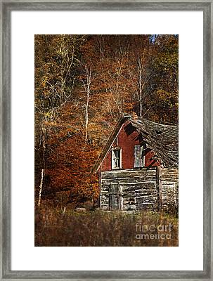The Cabin In The Woods.. Framed Print