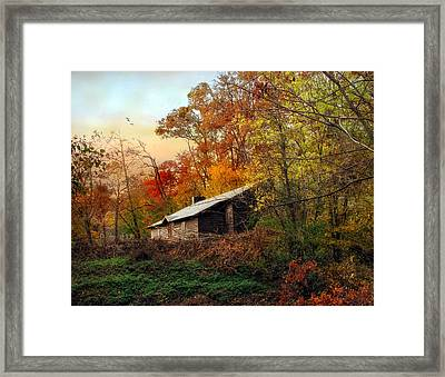 The Cabin Framed Print by Jessica Jenney