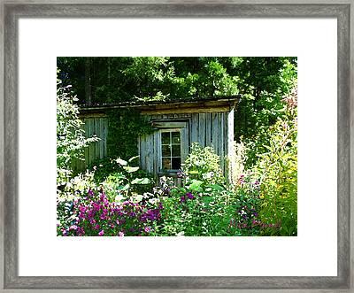 The Cabin Framed Print by Nick Diemel
