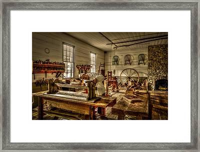 The Cabinetmaker Framed Print