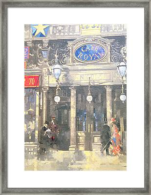 The Cafe Royal Framed Print