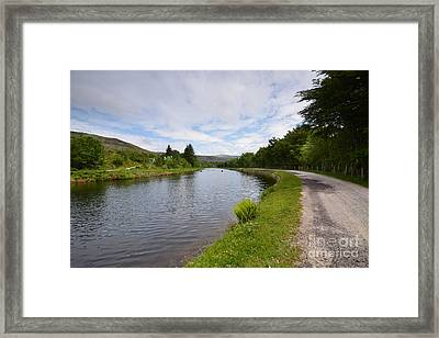 The Caledonian Canal Framed Print by Nichola Denny