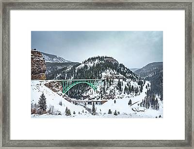 The Call Of The Rockies Framed Print by Evelina Kremsdorf