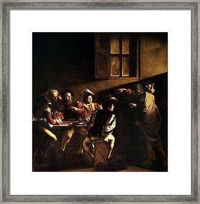 The Calling Of St Matthew Framed Print by HQ Art