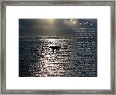 The Calling  Version Two Framed Print