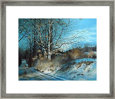 The Calling Framed Print by William  Brody