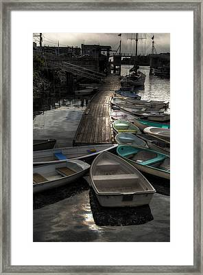 The Calm Before Framed Print by Richard Ortolano