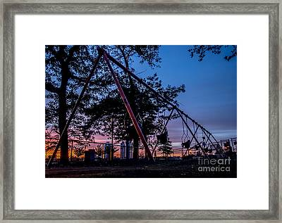 The Calm Before The Storm Framed Print by James Aiken
