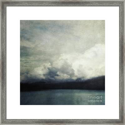 The Calm Before The Storm Framed Print by Priska Wettstein