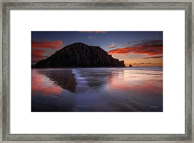 The Calm Returns Framed Print