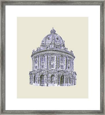 Framed Print featuring the digital art The Camera by Elizabeth Lock