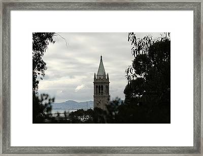 The Campanile Framed Print