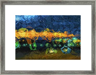 The Campsite Framed Print by Wendy J St Christopher