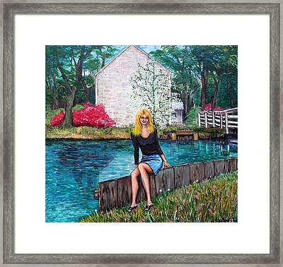 The Canal Framed Print