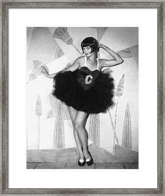 The Canary Murder Case, Louise Brooks Framed Print