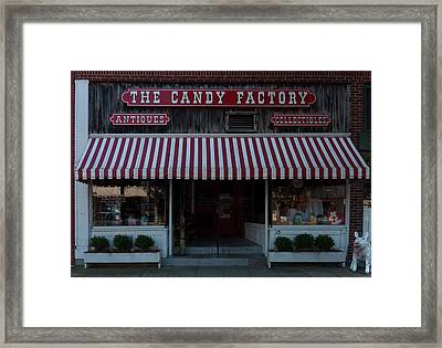 Framed Print featuring the photograph The Candy Factory by Chris Flees