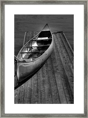 The Canoe Framed Print by David Patterson