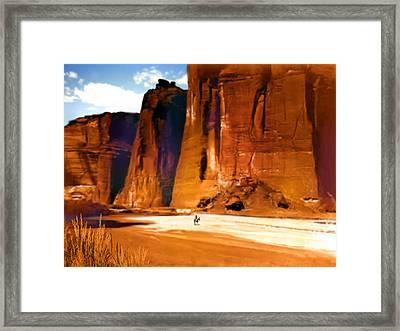 The Canyon Framed Print by Paul Sachtleben