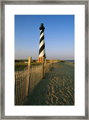 The Cape Hatteras Lighthouse Framed Print by Steve Winter