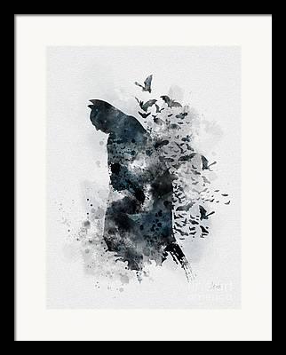Gotham City Framed Prints