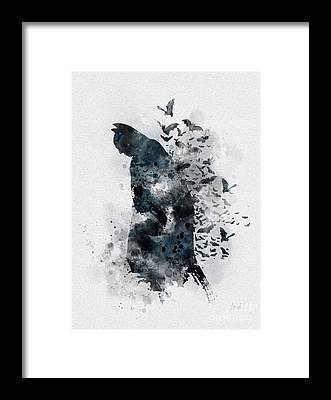 Bat Framed Prints