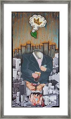 The Capitalist Framed Print by Mack Galixtar