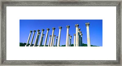 The Capitol Columns Of The United Framed Print by Panoramic Images