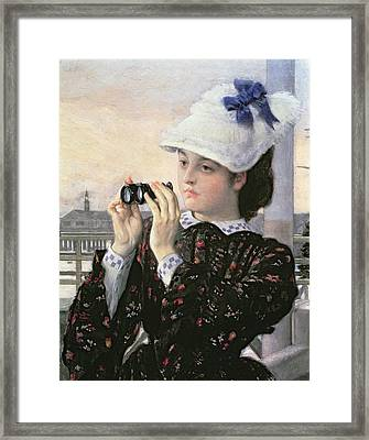 The Captain's Daughter Framed Print by Tissot